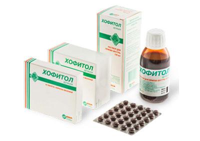 Формы препарата Хофитол