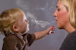 Сигаретный дым - причина бронхита