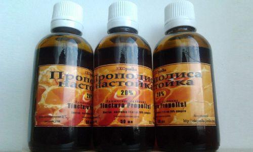 Спиртовой раствор прополиса при цистите используется во время обострения болезни, при осложнениях инфекции и при хроническом течении