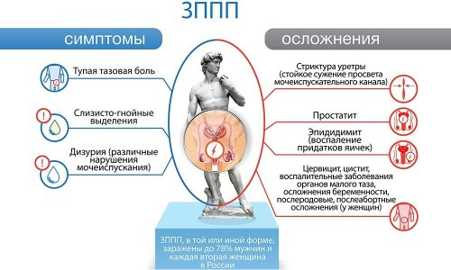Вирусы, которые переносятся через половой контакт, редко являются причинами цистита. Но имеются болезни, которые симптомами схожи с рассматриваемой патологией. Сюда относят уретрит, генитальный герпес