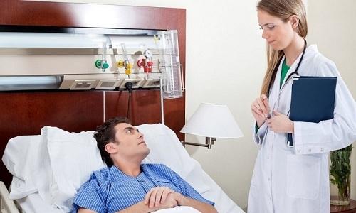 Если при терапии в домашних условиях ничего не помогает, пациента помещают в стационар