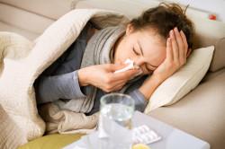Появлении гриппа в следствии пневмании