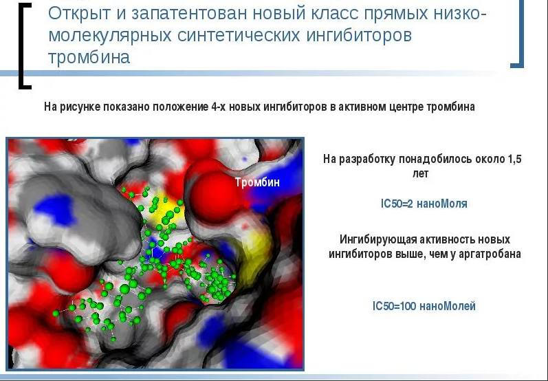 Ингибиторы тромбина