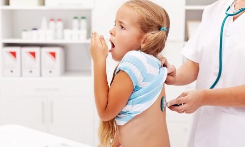 Сильный кашель у ребенка после бронхита