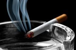 Табачный дым, содержащий вредные вещества
