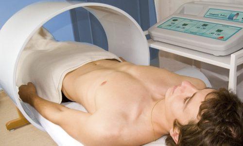Магнитотерапия - специальные магниты в больном месте создают магнитное поле, которое очищает ткани от вредоносных микроорганизмов
