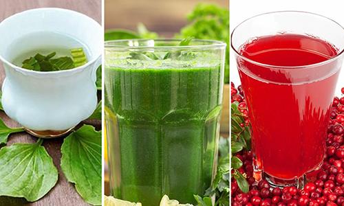 Для уменьшения боли могут использоваться народные рецепты, например отвар листьев брусники, подорожника или петрушки