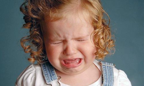 В начальной стадии воспаления дети капризничают