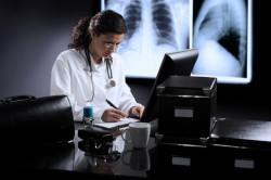 Диагностика двухсторонней пневмонии