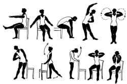Примерный комплекс лечебной гимнастики при хронической пневмонии