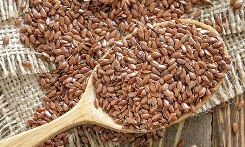 Для устранения боли при цистите можно принимать семя льна