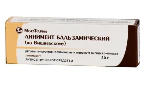Применение мази Вишневского способствует снятию болевых ощущений и нормализации процесса мочеиспускания