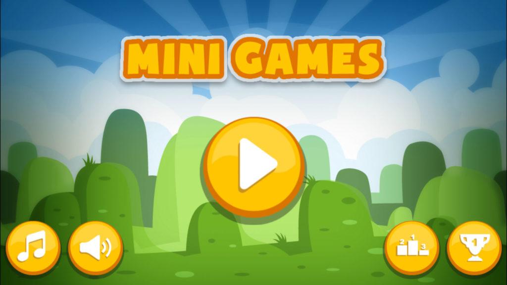 Мини-игры - развлечение взрослых и детей